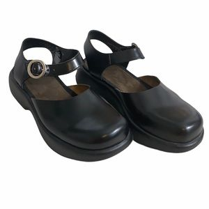 Dansko Black Mary Jane Sandals